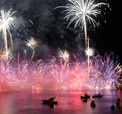New Year's Eve on the Island of Madeira