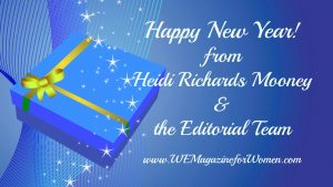 Happy New Year and 14 Gifts from WE Magazine for Women