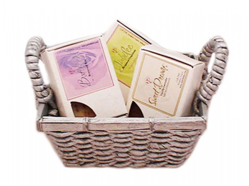 Handmade Soap Baskets : Product review healthy gift baskets we magazine for women
