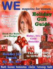 WE Magazine for Women Holiday Gift Giving Guide 2010