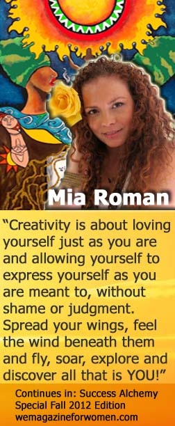 """Mia Roman Success Alchemy Fall 2012"