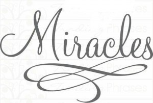 &quot;Invite Miracles to Bless You in the New Year&quot;