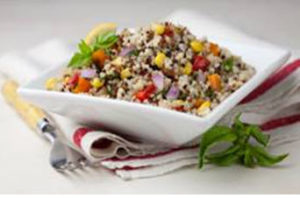 """Quinoa Summer Salad from Sustainable & Green Alter Eco Foods"""