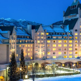 """Skiing Vacations at the Fairmont Chateau Whistler"""