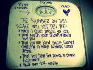 The Number on the Scale
