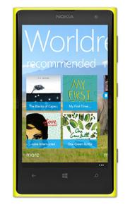 "Download the Worldreader App"""