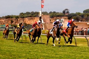 """San Diego Scene: Opening Day at the Del Mar Races """