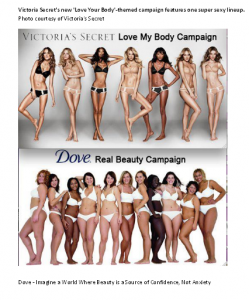 """Dove Victoria's Secret Campaigns"""