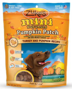 Product Review Zuke's Pumpkin Patch Mini Naturals & Minty fresh Dental Chew