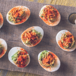 The Devil Made Me Do It, and Susie's Deviled Eggs