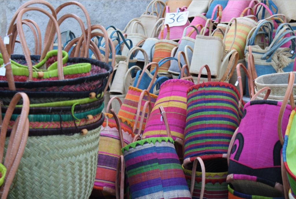"""""""Saint Remy Market Bags"""""""