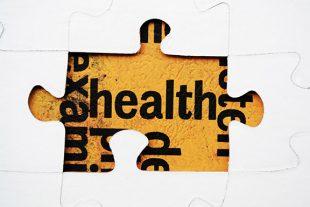 Health puzzle concept