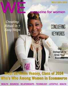 """Cover Sample We Magazine for Women """