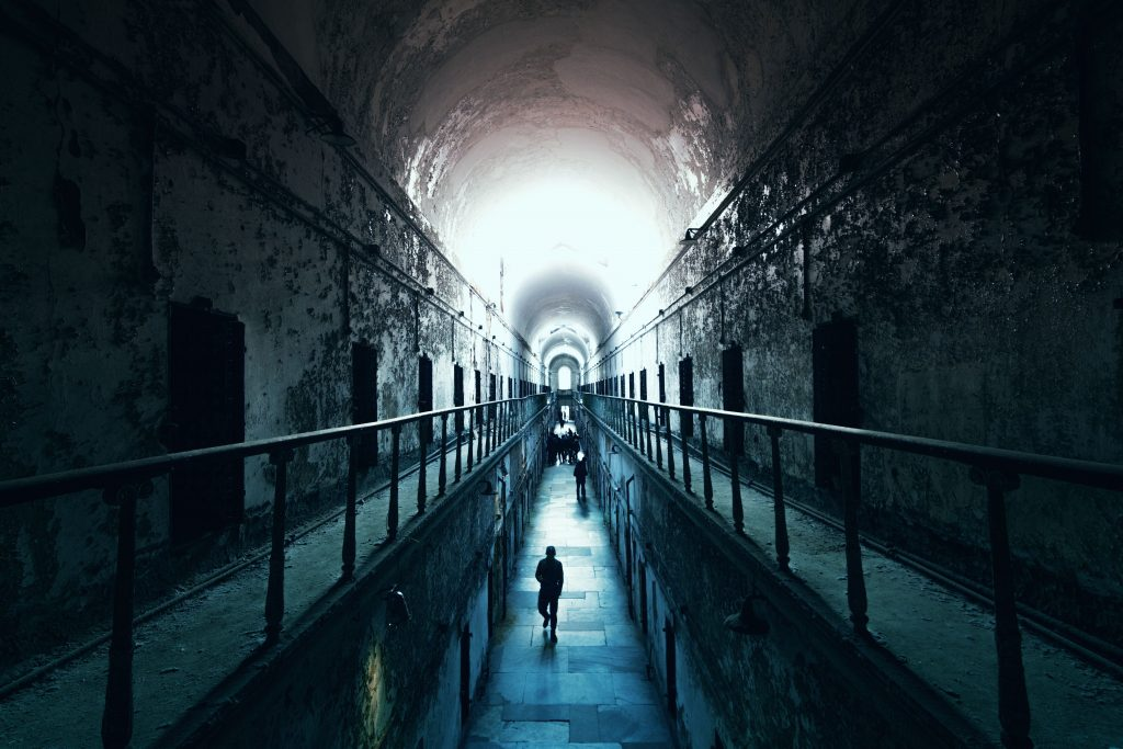 """Eastern State Penitentiary in Philadelphia:"
