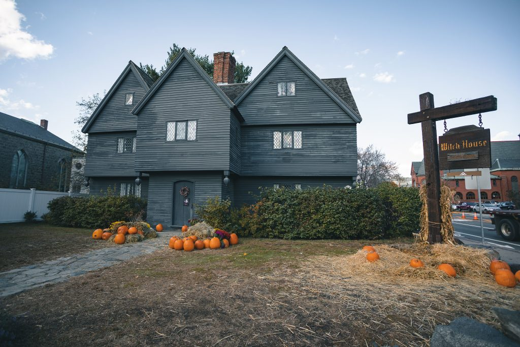 Salem Most Haunted for Halloween