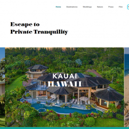 'Destinations in Paradise' Redefining Post-Pandemic Private Villa Rental Service Standards