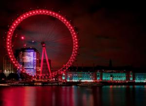 """""""London Eye at Night"""""""