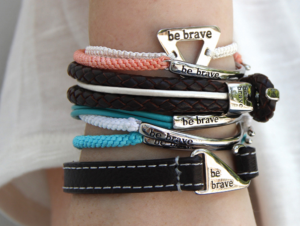 """Bravelets Shop for a Cause"""