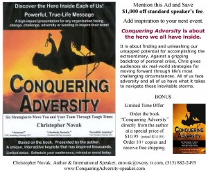 """Great book on conquering adversity"""