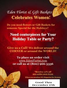 Order flowers from Eden Florist