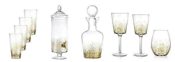Fitz and Floyd Glassware and Beverage Dispensers