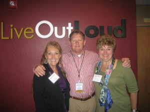 """Heidi, Eric Metcalf, and Dr Mary Lou Luebbe-Gearhart"""