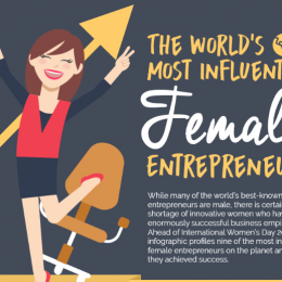 The World's Most Influential Female Entrepreneurs [Infographic]