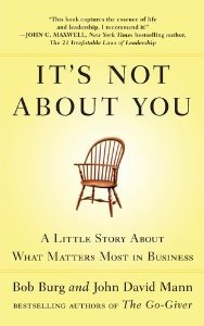 It's Not About You The Book