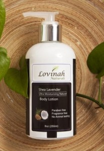 Product Review: SHEA LAVENDER LOTION by LOVINAH NATURALS