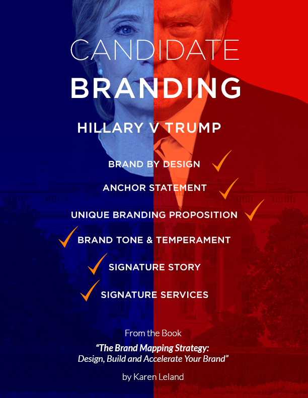 """6 Personal Branding Lessons Every Working Professional Can Learn from Trump and Clinton"""
