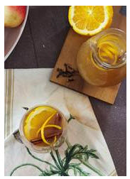"""Mulled Crown Royal Maple Finished Apple Cider"""