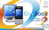 oxybook logo contact management technology
