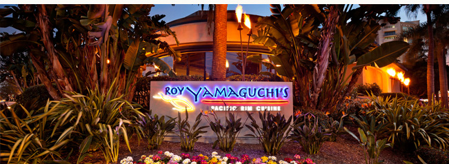 Pacific Rim Panache at Roy's Restaurant La Jolla