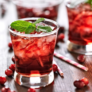 SPIKED CRANBERRY LEMONADE