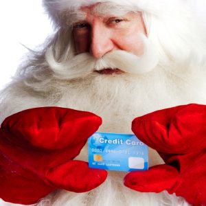 """Santa with a Credit Card"""