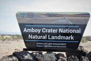 Amboy Crater…Volcano Eruption
