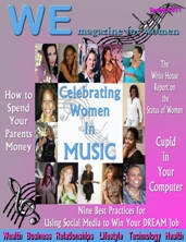 """WE Magazine for Women Spring 2011 Cover"""