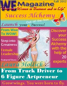 WE Magazine for Women Fall 2012 – Success Alchemy