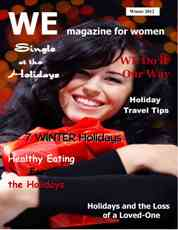 """WE Magazine for Women Holiday Guide Cover 2012"""