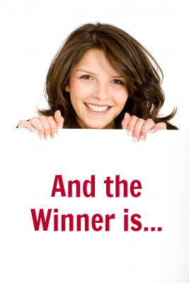And the Winner is… Spring Subscriber Contest