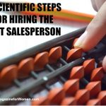 8 SCIENTIFIC STEPS FOR HIRING THE BEST SALESPERSON