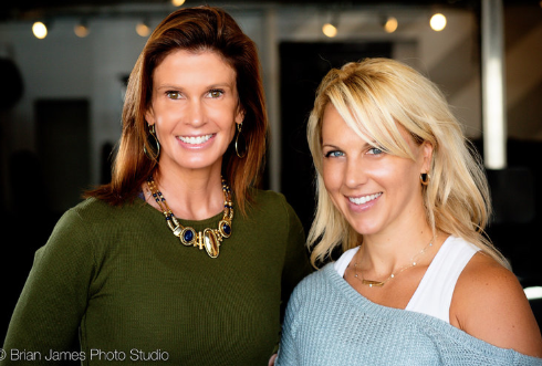 """ B Inspired founders Amy Carolla and Liz Harris"""