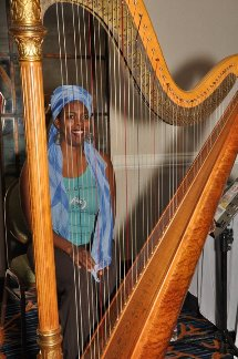 Meet the Lady of Harp