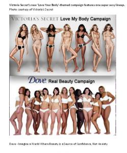 """""""Dove Victoria's Secret Campaigns"""""""