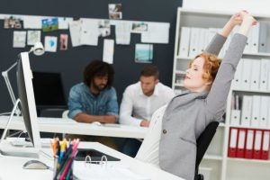 Five In-Office Exercises to Build Stress-Resilience and Improve Posture