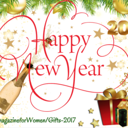 """""""Happy New Year from WE Magazine and 17 Gifts"""""""