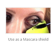 """Product Review Makeup Gard Card Mascara Shield"""