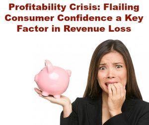 Profitability Crisis: Flailing Consumer Confidence a Key Factor in Revenue Loss