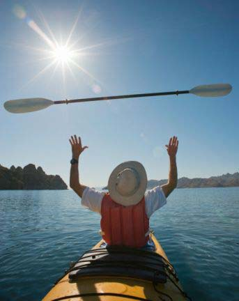 Release the Oars and Go with the Flow of Life