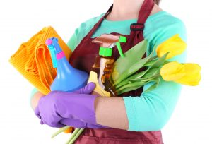 """10 Tips for Healthy Spring Cleaning"""